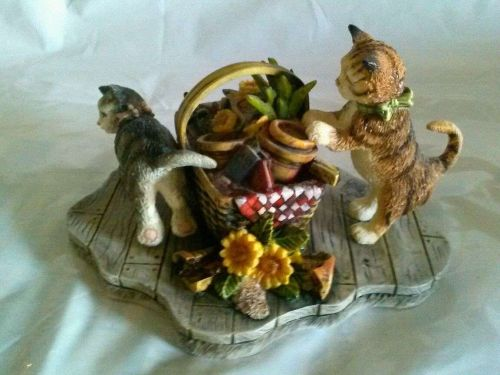 Lang & Wise Ltd Collectible-Curious Cats- 'Mischief'