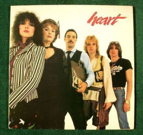 HEART ~ Greatest Hits / Live 1980 DOUBLE Rock LP