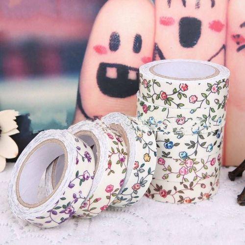 DIY Self-Adhesive Fabric Washi Tape - US Seller