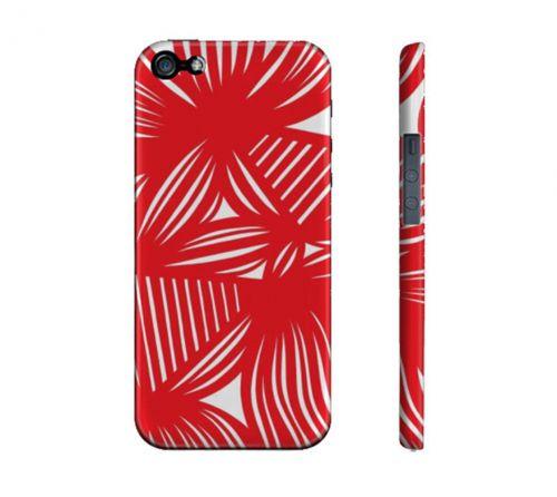 Corish Red White Iphone 5/5S Phone Case