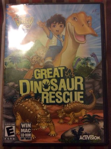 Go, Diego, Go! Great Dinosaur Rescue (Mac, 2008)