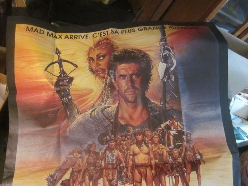 Mad Max gigantic film poster GIGANTIC 1985 Beyond Thunderdome $350 discount