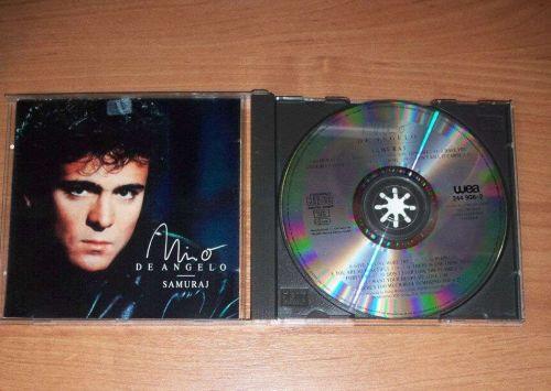 Nino de Angelo – Samuraj CD 1989 WEA 244 908-2 ( Dieter Bohlen ) RARE OOP