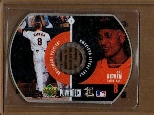 MLB CAL RIPKEN, Jr. ORIOLES 3rd BASEMAN 1999 UPPERDECK POWERDECK DISC CARD #3