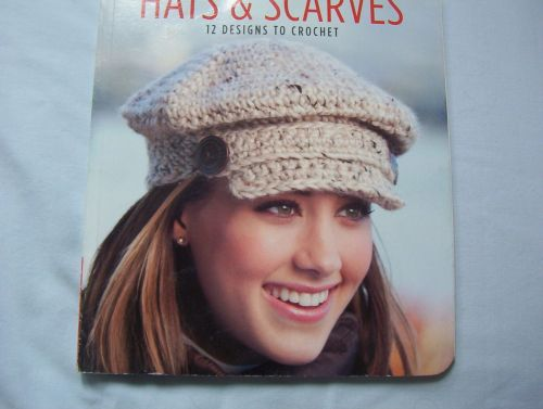 Hats and Scarves- 12 Designs to Crochet Pattern Book