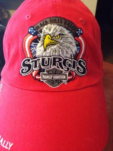 Women's One Size HARLEY-DAVIDSON Motorcycles Sturgis rally Baseball Hat