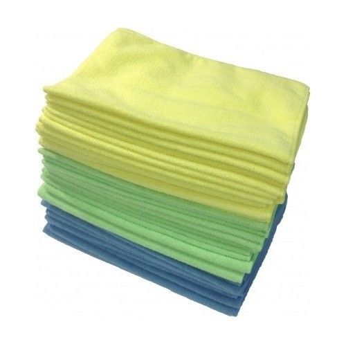 CAR cleaning CLOTHS Microfiber detailing (36-Pack) Assorted Colors