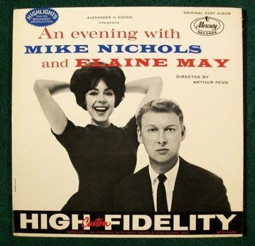 AN EVENING WITH MIKE NICHOLS and ELAINE MAY ~ 1960 Original Cast Album LP