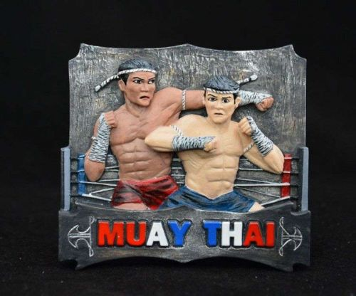 3D SCULPTURE FRIDGE MAGNET MEMORIAL MUAY THAI BOXING SOUVENIR COLLECTIBLE GIFT