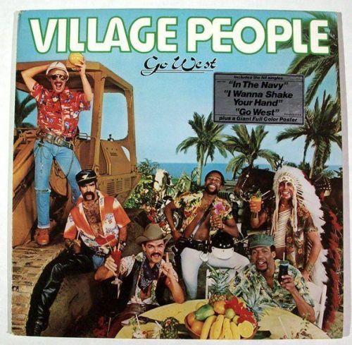 VILLAGE PEOPLE ~ Go West 1979 Rock / Pop LP Promo copy