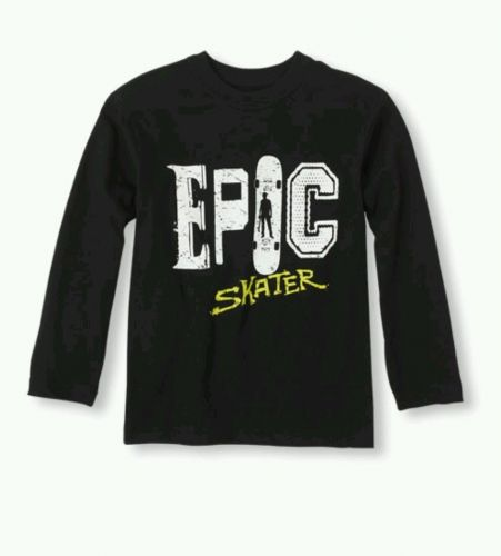 The Children's Place Epic Skater Graphic T-shirt Shirt Size Small (5/6) Boys