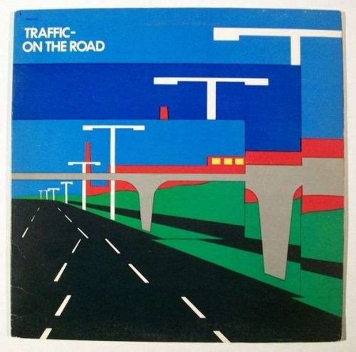 TRAFFIC ~ On The Road 1973 Rock LP