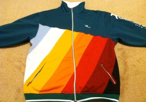 Rocawear Multi Color Sweat Jacket Boys Size M(10-12)