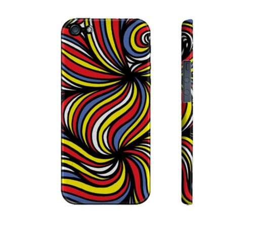 Feuerstein Yellow Red Blue Iphone 5/5S Phone Case
