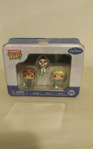 Frozen Pocket Pop! Mini Vinyl Figure 3-Pack Tin