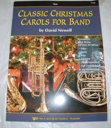 Classic Christmas Carols for Band - Newell - Flute Book