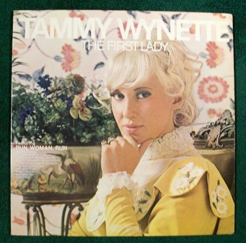 TAMMY WYNETTE ~ The First Lady 1970 Country LP