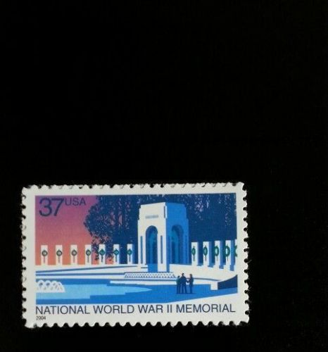 2004 37c National World War II Memorial Washington, D.C. Scott 3862 Mint F/VF NH