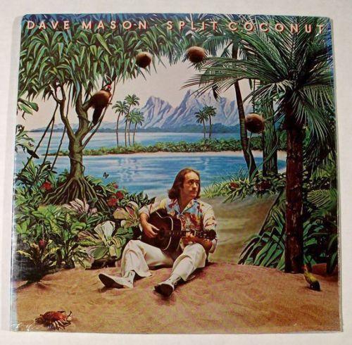 DAVE MASON ~ Split Coconut 1975 Rock LP