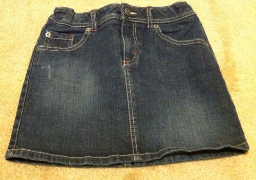 Mossimo Supply Co Denim Mini Jean Skirt Girls Size L