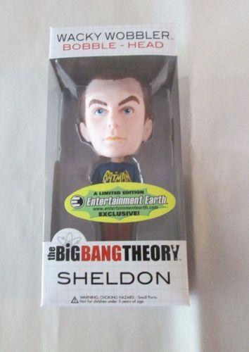 BIG BANG THEORY SHELDON BATMAN SHIRT Wacky Wobbler