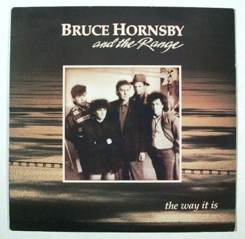 BRUCE HORNSBY & THE RANGE ~ Lot of ( 2 ) Blues Rock / Heartland Rock LPs