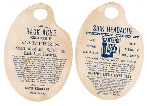 CATS CHILDREN SET 4 1880s VICTORIAN TRADE CARDS CARTER'S LIVER PILLS ADVERTISING