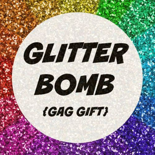 Glitter Bomb Mail Send Prank Gag Gift Letter Note Card FUNNY Anonymous enemy