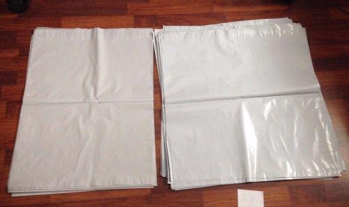 White Poly Envelopes for Shipping: 21pcs 19 x 24 AND 28pcs 24 x 24
