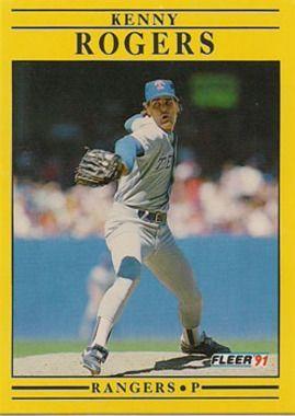 1991 Fleer #299 Kenny Rogers