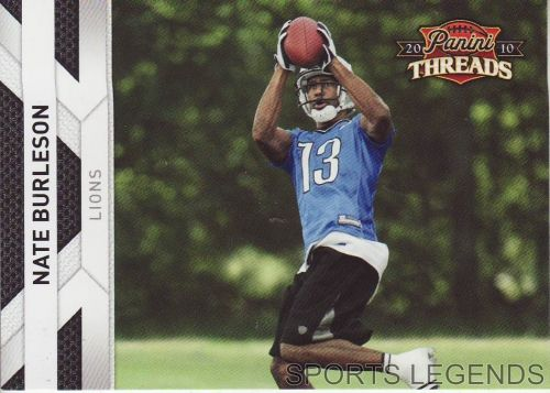 2008 Panini Threads #49 Nate Burleson