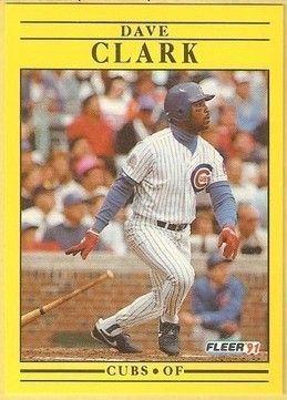 1991 Fleer #417 Dave Clark