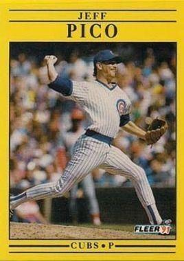 1991 Fleer #428 Jeff Pico