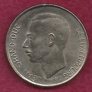 LUXEMBURG 5 Francs 1981 COIN - SHARP COIN!
