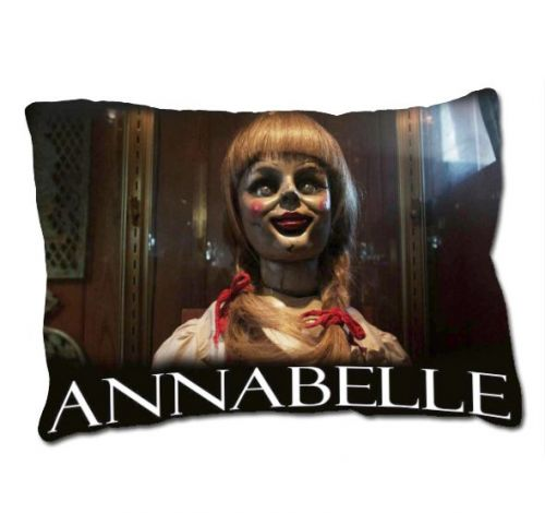 Hot New Annabelle The Doll Movie The Conjuring Horror Movie Pillow Case Cover GIFT
