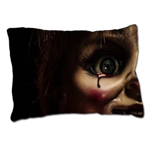 Annabelle The Doll Movie The Conjuring Horror Movie Pillow Case Cover Ideal GIFT