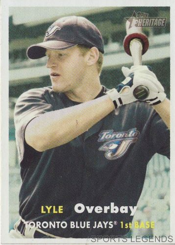 2006 Heritage #29 Lyle Overbay
