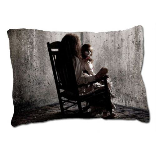 Annabelle The Doll Movie The Conjuring Horror Movie Pillow Case Cover Christmas GIFT