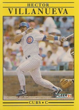 1991 Fleer #436 Hector Villanueva