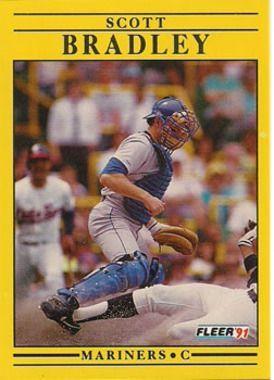 1991 Fleer #443 Scott Bradley