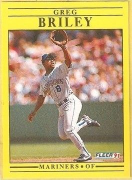 1991 Fleer #444 Greg Briley
