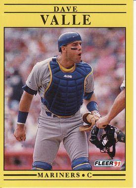 1991 Fleer #463 Dave Valle