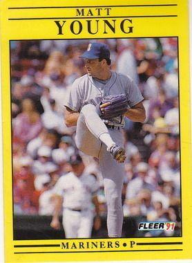 1991 Fleer #465 Matt Young