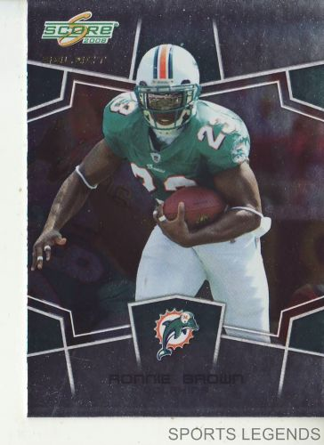 2008 Score Select #161 Ronnie Brown