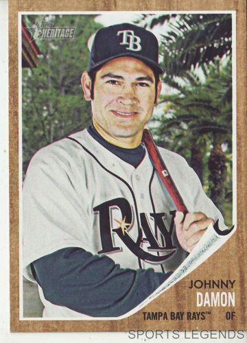 2011 Heritage #20 Johnny Damon
