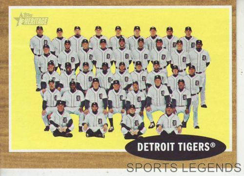 2011 Heritage #24 Detroit Tigers