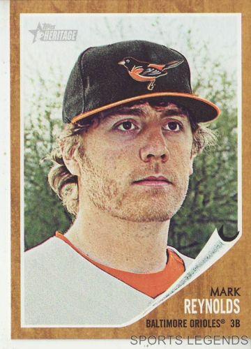 2011 Heritage #36 Mark Reynolds