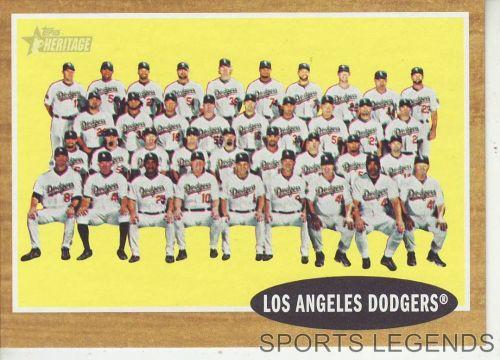 2011 Heritage #43 Los Angeles Dodgers