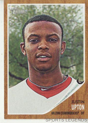 2011 Heritage #44 Justin Upton