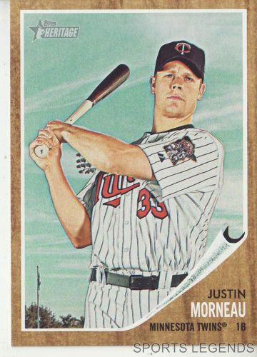 2011 Heritage #70 Justin Morneau